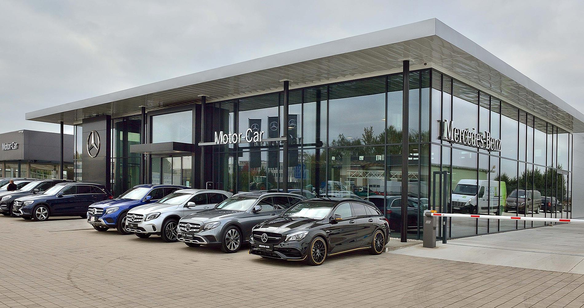 Mercedes-Benz, Komárňanská cesta