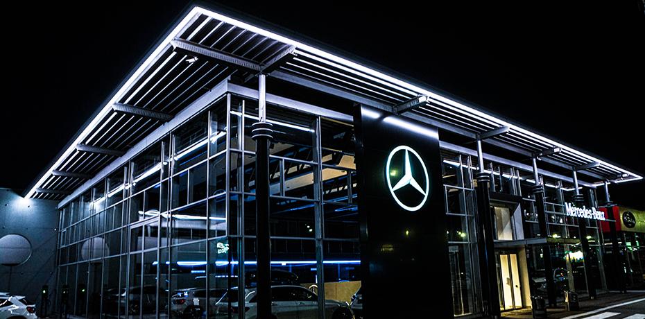 Mercedes-Benz, Zvolenská cesta