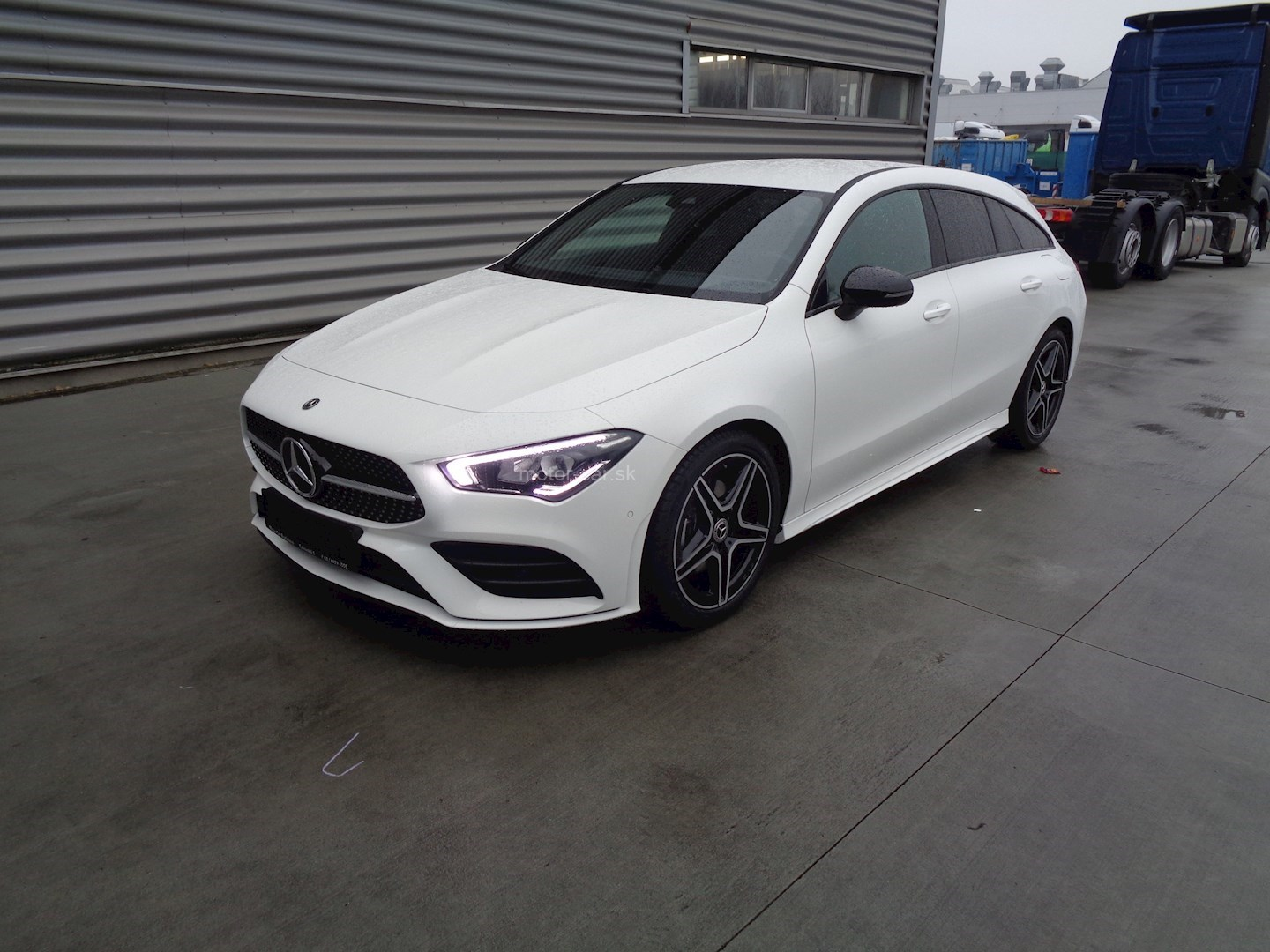 mercedes-benz cla 180 d shooting brake