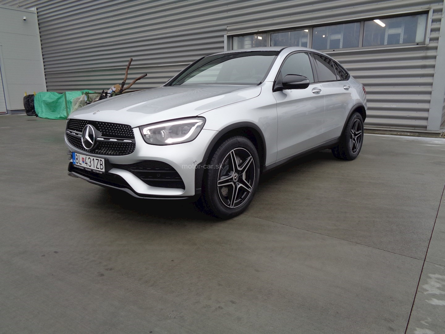 mercedes-benz glc 300 4matic kupé